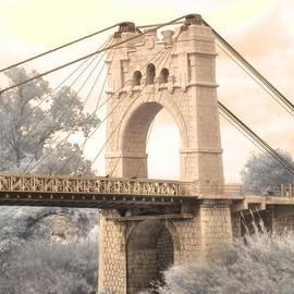 Amposta suspension Bridge