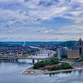 Bridges to Pittsburgh  2 by Rachel Cohen