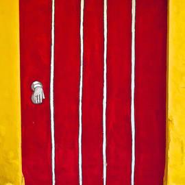 Bright Red Door II by David Letts
