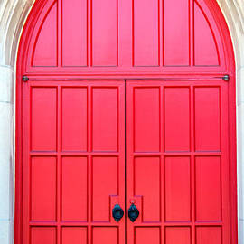 Bright Red Doors by Cynthia Guinn