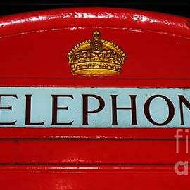 Collectible British Telephone Booth In British Columbia by Marcus Dagan