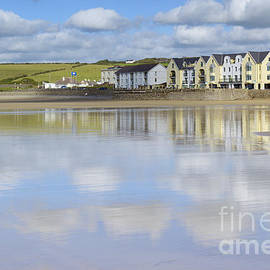 Broad Haven Clouds by Wendy Wilton