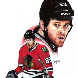 Bryan Bickell by Jerry Tibstra