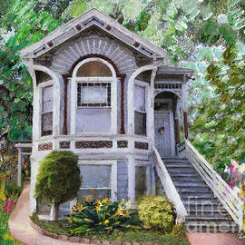 Alameda 1895 Queen Anne by Linda Weinstock