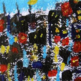 Mary Carol Williams - Busy Crowded City