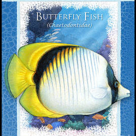 Butterfly Fish by Randy Wollenmann