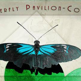 Butterfly Pavilion - Colors - Blue by AGeekonaBike Fine