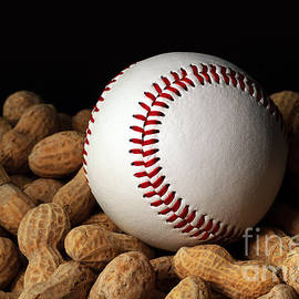 Buy Me Some Peanuts - Baseball - Nuts - Snack - Sport by Andee Design