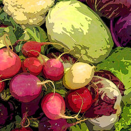 Jean Hall - Cabbages and Radishes