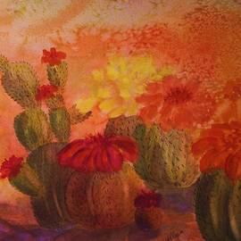 Ellen Levinson - Cactus Garden - Square Format