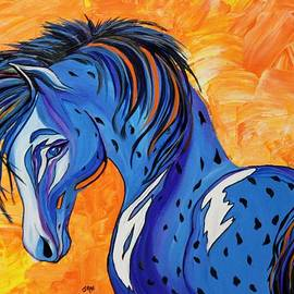Janice Rae Pariza - CADET the Blue Horse