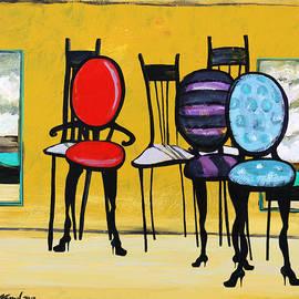Karon Melillo DeVega - Cafe Chairs