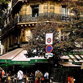 Cafe Deux Magots by Ira Shander