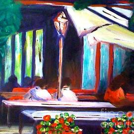 Therese Alcorn - Cafe Scene
