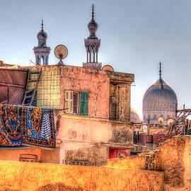 Cairo Skyline by Nigel Fletcher-Jones