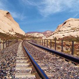 Cajon Rails - California by Glenn McCarthy Art and Photography