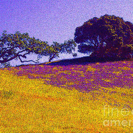 California Hills by Jerome Stumphauzer