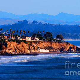 Tap On Photo - California Sunset - Pismo Beach