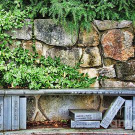 Jack Schultz - Camden Maine Library Bench 2987