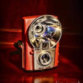 Camera - Vintage Brownie Starflash by Paul Ward