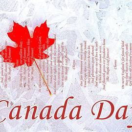The Creative Minds Art and Photography - Canada Day .. The Maple Leaf Forever