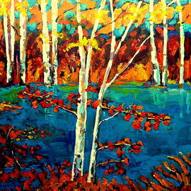 Canadian  Landscape Artist Carole Spandau by Carole Spandau
