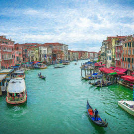 Canal Grande Itl3379 by Dean Wittle