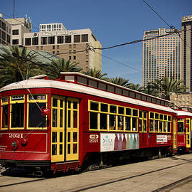 Canal Street Cars NOLA DSC04745 by Greg Kluempers