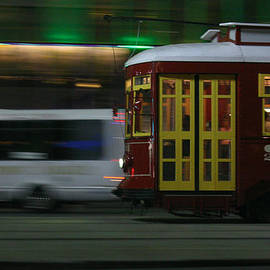 Canal Street Trolley by Jeff Mize