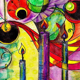 M E Wood - Candles