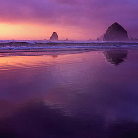 Rick Lloyd - Cannon Beach Reflections