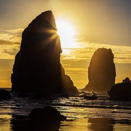 Angie Vogel - Cannon Beach Sunburst