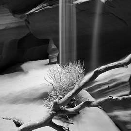 Canyon Sandfall by Bryan Keil