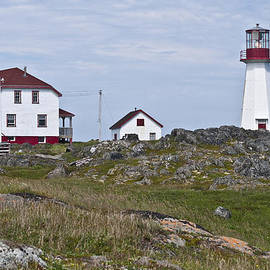 Cape Bauld Lighthouse Quirpon Island by Wendy Nuttall