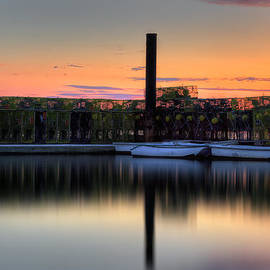 Cape Cod Sunset Pamet Harbor by Bill Wakeley