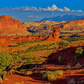 Capitol Reef Landscape by Greg Norrell