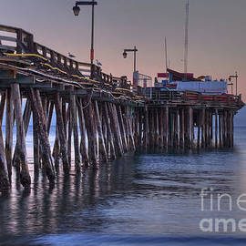 Capitola Wharf at Dusk by Morgan Wright