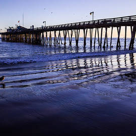 Capitola Wharf Reflections by Priya Ghose