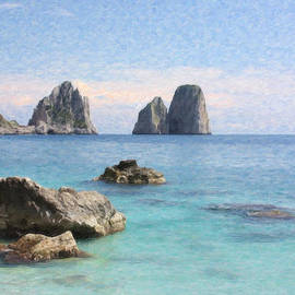 Capri Sea Itl3878 by Dean Wittle