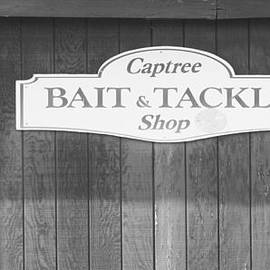 JOHN TELFER - Captree Bait and Tackle Shop in Black and White