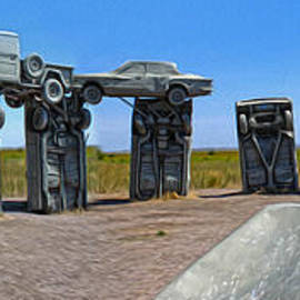 Carhenge - 11 by Gregory Dyer