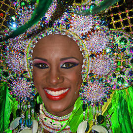 Carnaval Beauty by Bob Hislop