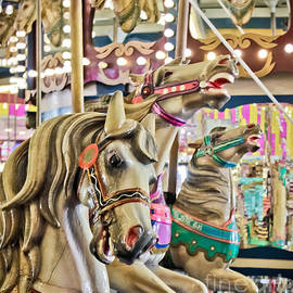 Carousel at Casino Pier
