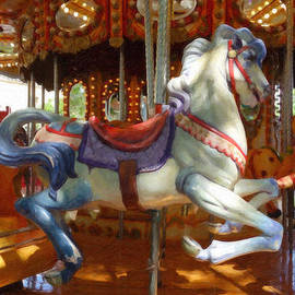 Carousel Horse Equ494635 by Dean Wittle