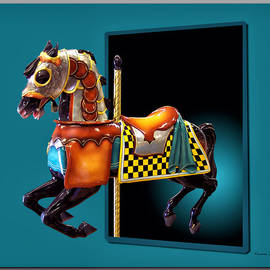 Thomas Woolworth - Carousel Horse Right Side