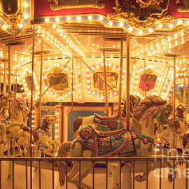 Carousel Night Lights by Mary Deal