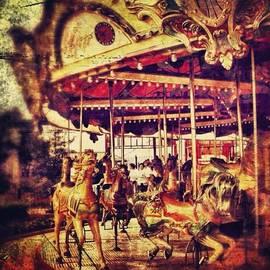 #carousel #ride #fun #amusement #horse