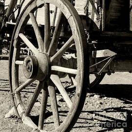 Carriage Wheel By Diana Sainz by Diana Raquel Sainz