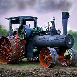 F Leblanc - Case 110HP Steam Tractor
