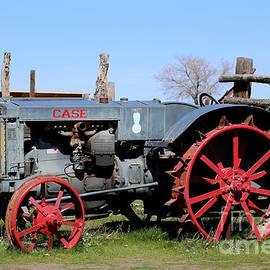 Case Tractor by Marty Fancy
